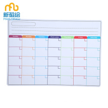 Weekly Monthly Magnetic Fridge Calendar Planner