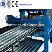 Canton juste fournisseur tôle acier haute limite Quility plancher Decking Roll Forming Machinery
