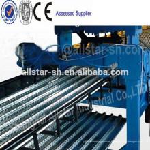Passer CE et ISO Structure métallique plancher matériel pont Roll Forming Machine métal platelage profileuse