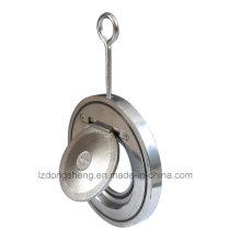 Válvula de retenção Wafer Swing fino