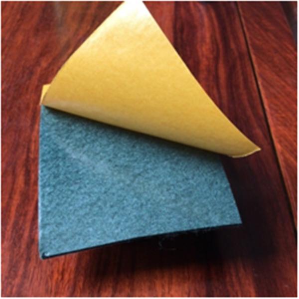Self adhesive non-woven fabric
