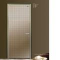 Design de porta de painel de madeira interior