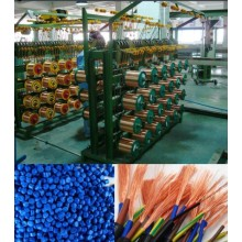 Refractory sheathed flexible cable