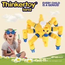 Günstige 2015 neueste Kunststoff-Verriegelung Spielzeug