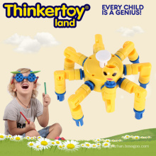 Barato 2015 más nuevo plástico bloqueo de juguete