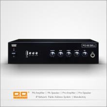 Amplificador de potencia de voltaje nominal de alta potencia Pg-6s con USB 30W