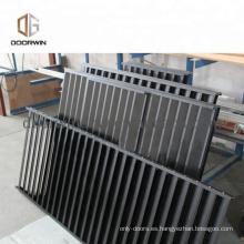 Panel de la ventana de aluminio diseño de la parrilla en piezas de marco de China