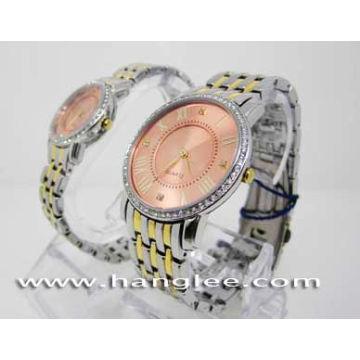 Hochwertige Paar-Uhr, Liebhaber Uhren (HLJA-15160)