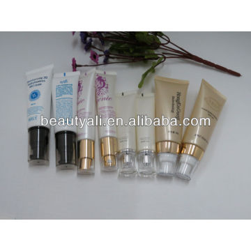 cosmetics PE tube with airless pump
