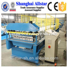 Steel sheet floor tile making machine, floor deck roll forming machine