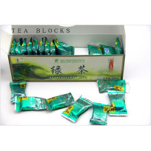 125g Chinese a for lossing fat pure green tea blocks
