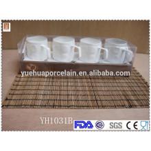 Taza de cerámica blanca de la promoción del café para la venta