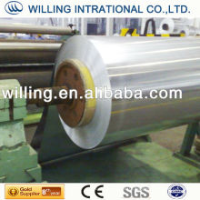 Galvanized steel sheet in coils secondary quality