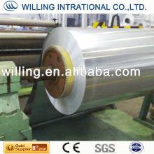 Chapa de aço galvanizado em bobinas de qualidade secundária