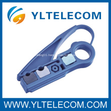 Light Weight Coaxial Cable Stripper 2 Blades Hardware Networking Tools