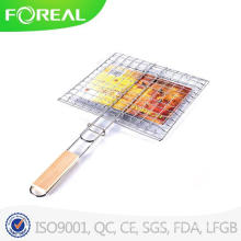 Portable Outdoor Hamburger BBQ Grill Mesh