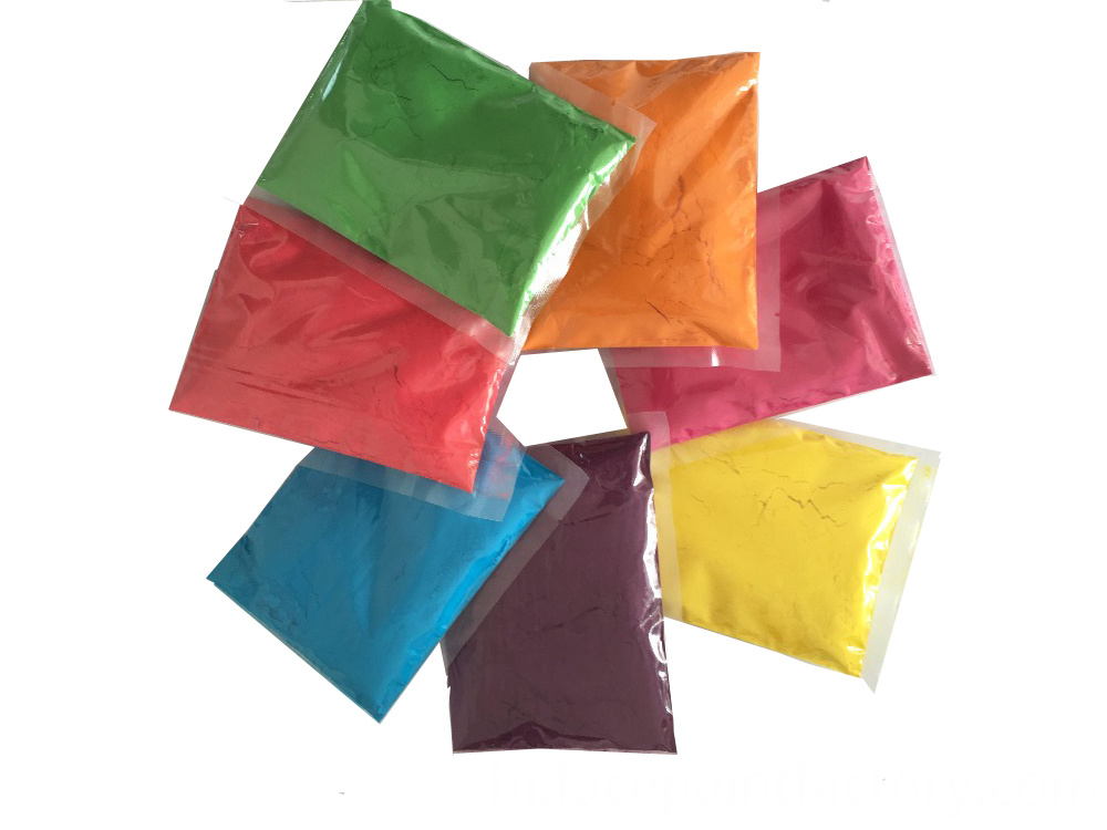 Holi Gulal powder