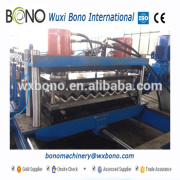 Galvanized Steel Silo Roll Forming Machine With 18 Forming Stations