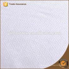 Tissu en coton polyester pour feuille
