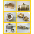 Factory 2 Way Brass Motorized Control Ball Valve for Water Control System