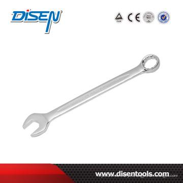 Комбинированный гаечный ключ с хромированным покрытием 10 мм HRC42-48