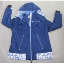 Yj-1064 Bleu imperméable respirant Hommes Hiver Softshell Jacket