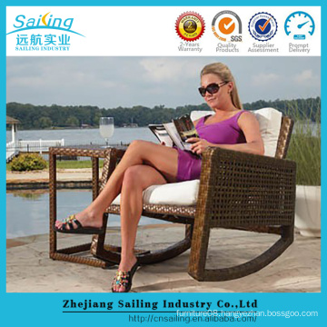 All Weather Popular Rattan Swing Chair Outdoor Swingasan Chair