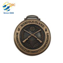 Heißer Verkauf benutzerdefinierte Eisen / Messing Medaille Kunst benutzerdefinierte Marathon Medaille
