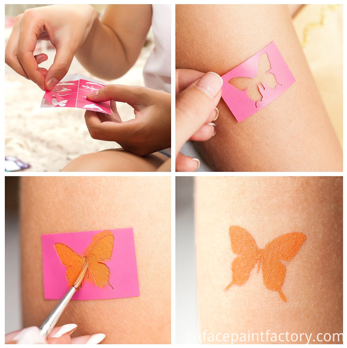 face paint stencils for kids