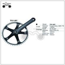 Ucuz 103 mm dingil çelik bisiklet krank dişlisi