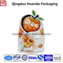 Benutzerdefinierte Größe / Druck speziell geformte Kunststoff-Verpackung Tasche