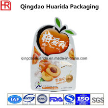 Tamaño personalizado / impresión especial en forma de bolsa de plástico de embalaje