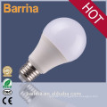 Energy Saving A60 9W E27 ampoule led, aluminium led ampoule logement