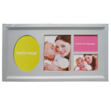 Collage plástico blanco barato marco para la promoción