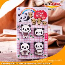 Kitchen Baking Tool Premium 3D Baby Panda Plastic Cookie Cutter