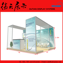 4x4 20x20 Modular Exhibition Booth With CE, SGS, TUV Certificated