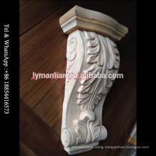 Decorative Wood Carving Acanthus Corbels