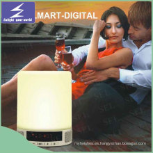 2016 lámpara de escritorio portable caliente de la música de la música con el altavoz de Bluetooth