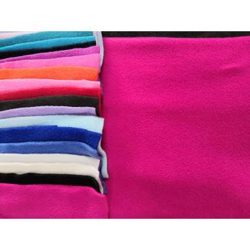 100% Polyester Polar Fleece solid Fabric