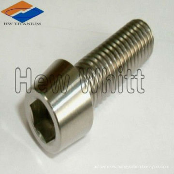 Gr5 titanium taper head bolt