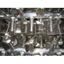 Mezclador de paletas de doble gravedad y eje cero WZ, mezcladora de cono SS farmacéutica, mezcladora horizontal de acero inoxidable