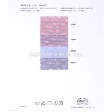 stock lot 100% cotton100s tela para camisas