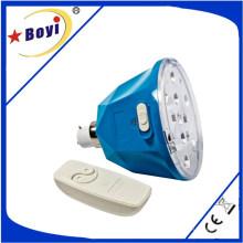 Bulbo recarregável do diodo emissor de luz com bateria, luz de emergência recarregável do diodo emissor de luz