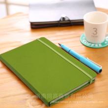 Diário de couro / Jornal personalizado de caderno de couro