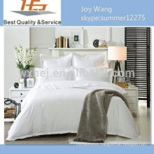 Pure white 100 cotton bed sheet can be used in container homes/hotel/hospital