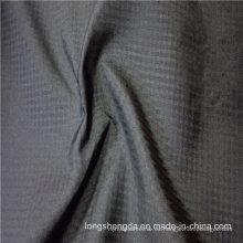 Resistente al agua y resistente al viento Anti-Static Sportswear Tejido Plaid Jacquard 100% tela de poliéster (E153)