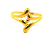 Golden Pearl K Bague en or jaune