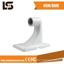 Support en aluminium pour le support en aluminium de surveillance de route pour des accessoires d'appareil-photo de télévision en circuit fermé Support en aluminium pour des pièces de surveillance
