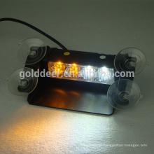 Plataforma/Dash & janela montagem emergência polícia luz viseira levaram luzes estroboscópicas (SL34S-V)