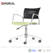 Orizeal Alibaba online shopping mesh computer task chair, meeting chair, green reception chair(OZ-OCV010B)